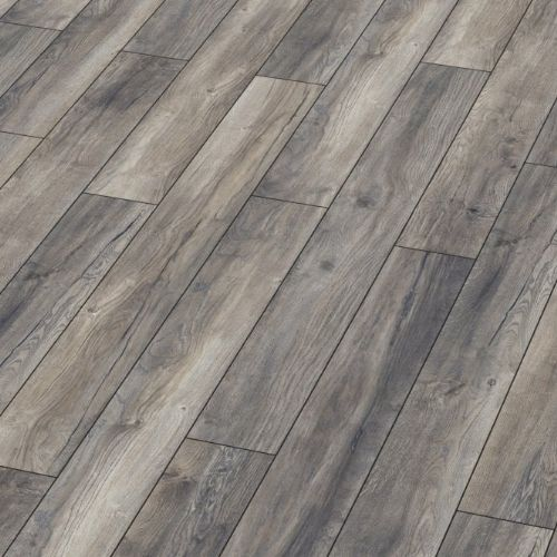 Kronotex Exquisite Plus Harbour Grey Oak 8mm Laminate Flooring